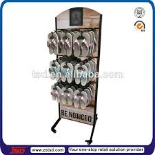 Metal Display Racks And Stands TSDM100 Custom best wholesale floor metal shoe store display 86