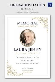 Memorial Service Invitation Wording Stunning Memorial Service Funeral Invitation Card Perfect Ideas Wording Cards