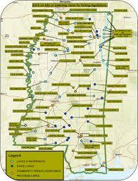 Map Of Fishing Regs
