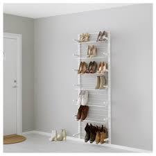 Ikea Shoe Rack Algot Wall Upright Shoe Organizer Ikea