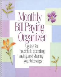 Home Finance Bill Organizer 2015 Monthly Bill Paying Organizer