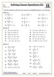algebra cazoom maths solving equations algebra and equation solving equations maths worksheet