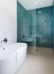 blue bathroom tiles. 40 Blue Mosaic Bathroom Tiles Ideas And Pictures Inside Within Plans 3 E