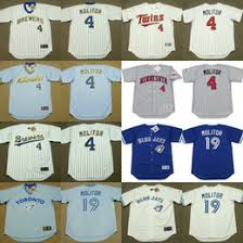 Molitor Throwback Blue Jersey Pullover Brewers Paul 4 Light Milwaukee efffdefcbfdecd|The Highland Mint
