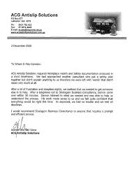 Letter Of Assurance Leading Professional Quality Assurance Cover