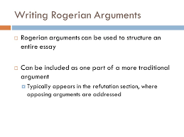 chapter rogerian argument toulmin logic and oral arguments  6 writing rogerian arguments  rogerian arguments