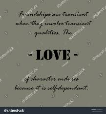 Aristotle Quotes Friendships Transient Stock Vector Royalty Free