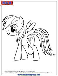My Little Pony Coloring Pages Rainbow Dash Best Of Printable Pony