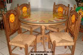 mexico furniture. sol dining set hacienda rustica mexico furniture