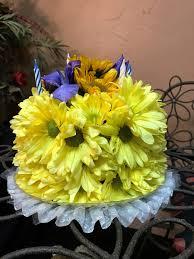 Happy Birthday Cake By Shermans Florist