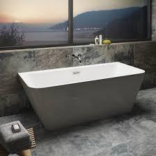 verso back to wall bath