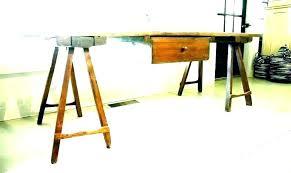 sawhorse table legs se table legs steel designs plans metal sawhorse table legs chrome sawhorse
