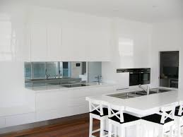 Kitchen Splashbacks Toughened Mirror Kitchen Splashback Modern Tile Mirrored