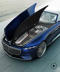 2018 mercedes maybach 6. Beautiful 2018 Mercedesmaybach 6 Cabriolet Concept The Study Of A Meter Electric  Vehicle Intended 2018 Mercedes Maybach