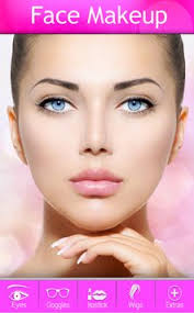 beautiful face makeup apk screenshot