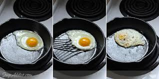 Fried Egg Cooking Chart The Perfect Fried Egg Chef Vs Tradition Soupaddict