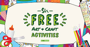 6 Easy Art Activities For Kids Free Downloads To Beat
