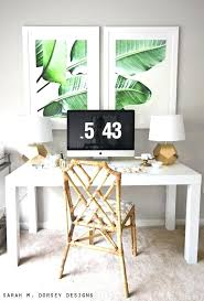 ikea office decor. Home Office Decor Large Scale Banana Leaf Prints Ikea .