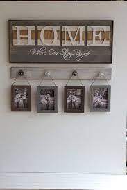 farmhouse style cotton wreath on home wood sign fall decor