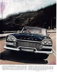 Amazon Com 1958 Dodge Custom Royal Swept Wing Front End Original 13 5 10 5 Magazine Ad Everything Else Dodge Mopar Magazine Ads