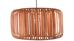 Bamboo Barrel Lights Amazon Com Kouboo 1050112 Bamboo Barrell Pendant Rustic