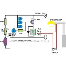 automatic night light circuit diagram image