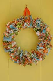 no sew rag wreath tutorial