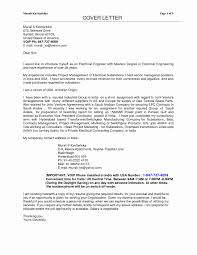 Applying For Management Position Cover Letter Unique Electrical