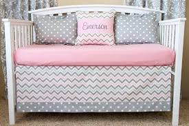 yellow and grey elephant nursery bedding pink white chevron baby smart