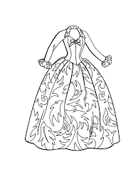 43 Barbie Dress Up Coloring Pages Top Doll Dress Games Coloring