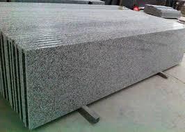 g640 white star prefabricated granite stone countertops polished honed finish