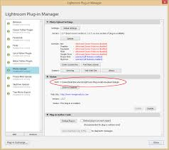 support plug in manager install folder