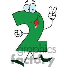 cartoon number 2 green holding clipart panda free clipart images
