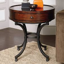perfect living room end table and living room ideas end tables living room round brown varnished