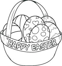 Free Coloring Pages To Print Printable Easter For Kindergarten Kids