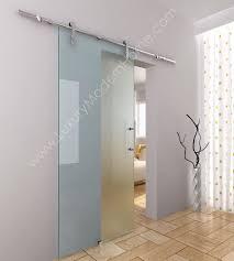 BERLIN Sliding GLASS Door HARDWARE ONLY LONGER  Rail - Exterior lock for sliding glass door