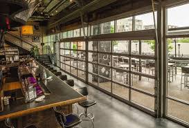 glass garage doors restaurant. Exellent Restaurant Large Glass Restaurant Doors Throughout Glass Garage Doors Restaurant T