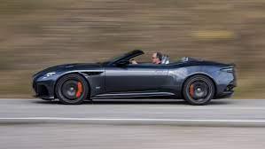 Aston Martin Dbs Volante Review 715bhp Roadster Driven Top Gear
