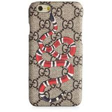 gucci iphone 6 case. gucci snake printed iphone 6 case iphone