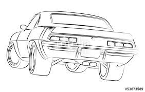 muscle cars drawings.  Cars Muscle Car Drawing And Cars Drawings E