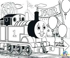 Thomas The Train Coloring Pages Train Coloring Pages The Train