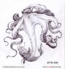 Small Picture 66 Octopus Tattoo Designs