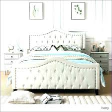Leather Tufted Bed Leather Tufted Bedroom Set – eurogenie.co