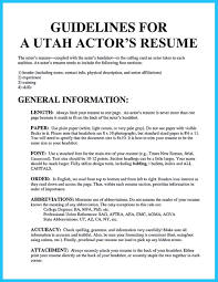 Should Resumes Be One Page Cool Learning To Write An Audition Resume Resume Template 75