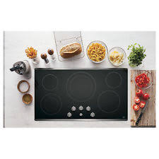 36 electric cooktop ge 36 inch smoothtop electric cooktop
