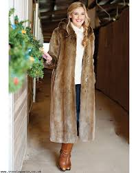 hooded full length coat 2wr0wjnk women s donna salyers fabulous furs coats coyote