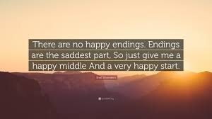 Quotes On Happy Endings