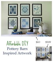 Affordable DIY Artwork Inspired by Pottery Barn ~ Rock Your ...
