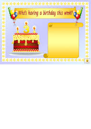 Top 20 Birthday Calendar Templates Free To Download In Pdf Format