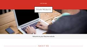 Personal Resume Website Resume Website Templates GoDaddy 59